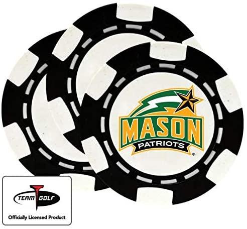 Golfballs.com Classic George Mason Patriots Poker Chips - 3 Pack