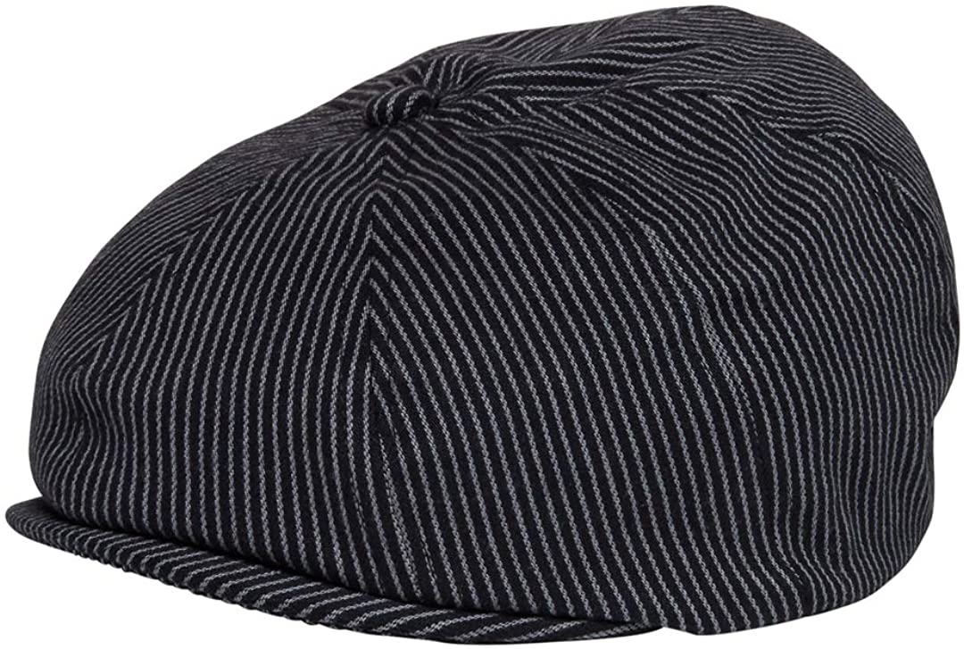 Born to Love Baby Boys Hat Vintage Driver Caps L 54, Pinstripe Newsboy