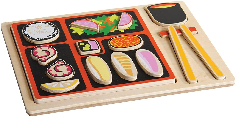 Guidecraft Japanese Sorting Food Tray