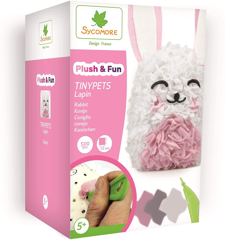 Sycomore PLUSH'N Fun TINYPETS Rabbit, CRE8015