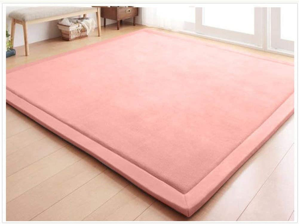 RuiXia Coral Velvet Area Rugs Play Mat Carpet Crawling Mat for Nursery Baby Toddler Children Kids RoomYoga Mat Exercise Pads