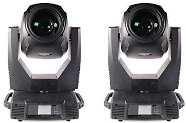 DAMON 2PCS 17R 350W Spot Wash Beam 3in1 Moving Head Stage Light For Disco, Stage Show, DJ Party, Concert, KTV, Wedding, etc.