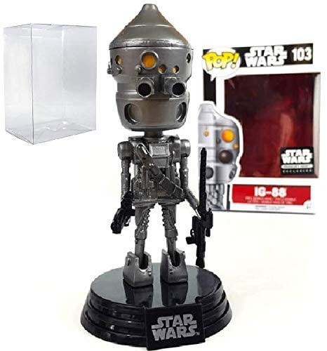 Star Wars: Smuggler's Bounty - IG-88 Funko Pop! Vinyl Bobble-Head Figure (Includes Compatible Pop Box Protector Case)