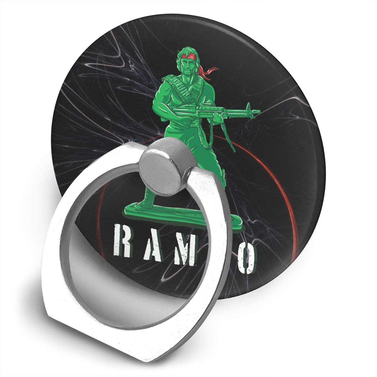 Hwxzviodfjg John J. Rambo Canada 360 Degree Rotating Ring Stand Cell Phone Mount