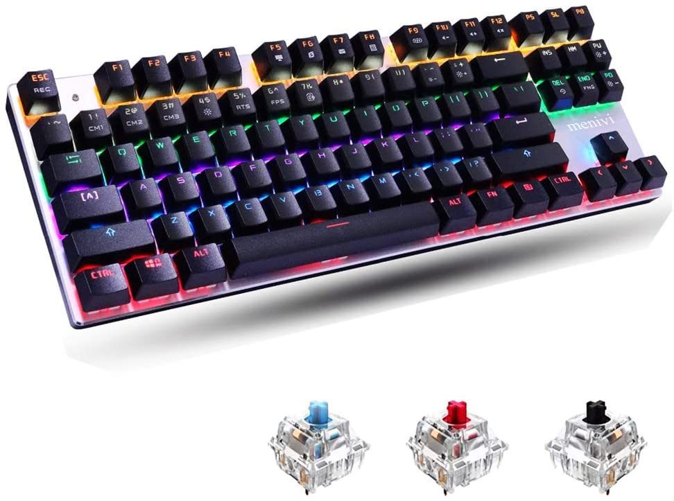 menivi Mechanical Gaming Keyboard