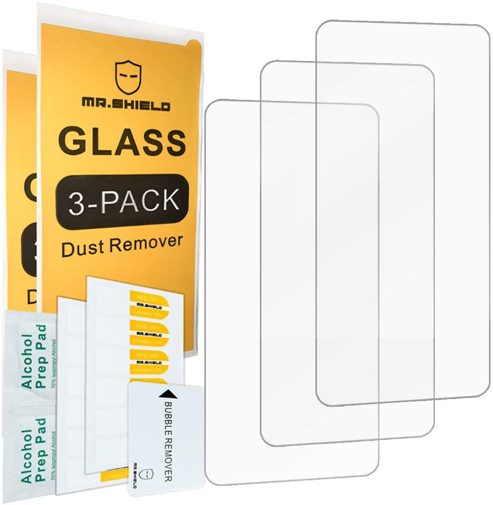 [3-Pack]-Mr.Shield for Samsung Galaxy S10 Lite [Tempered Glass] [Japan Glass with 9H Hardness] Screen Protector with Lifetime Replacement