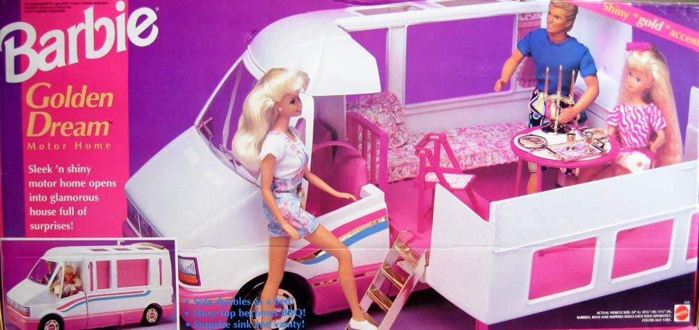 Barbie GOLDEN DREAM MOTOR HOME - Motorhome Van/ Bus w/