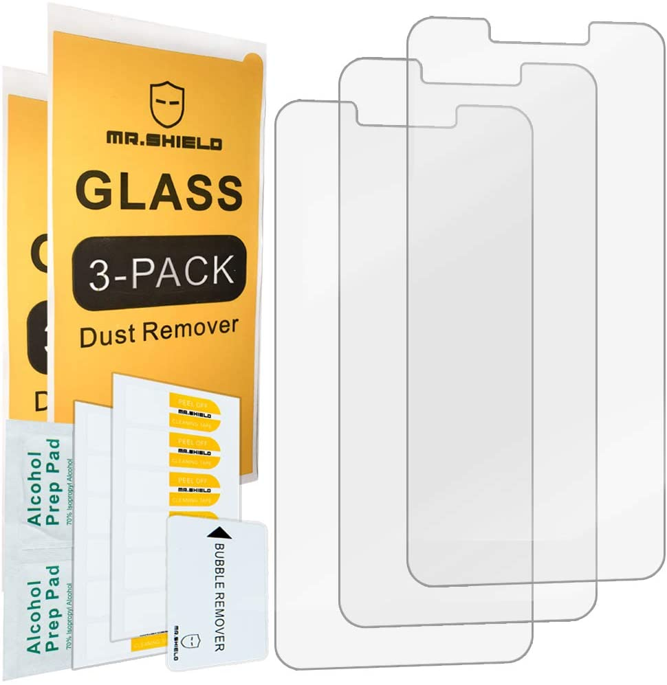 [3-Pack]-Mr.Shield For Alcatel TCL A1 (A501DL) [Tempered Glass] Screen Protector with Lifetime Replacement