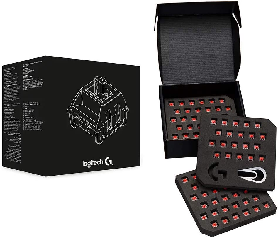 Logitech G Pro X Mechanical Gaming Keyboard Switch Kit (GX RED Linear)