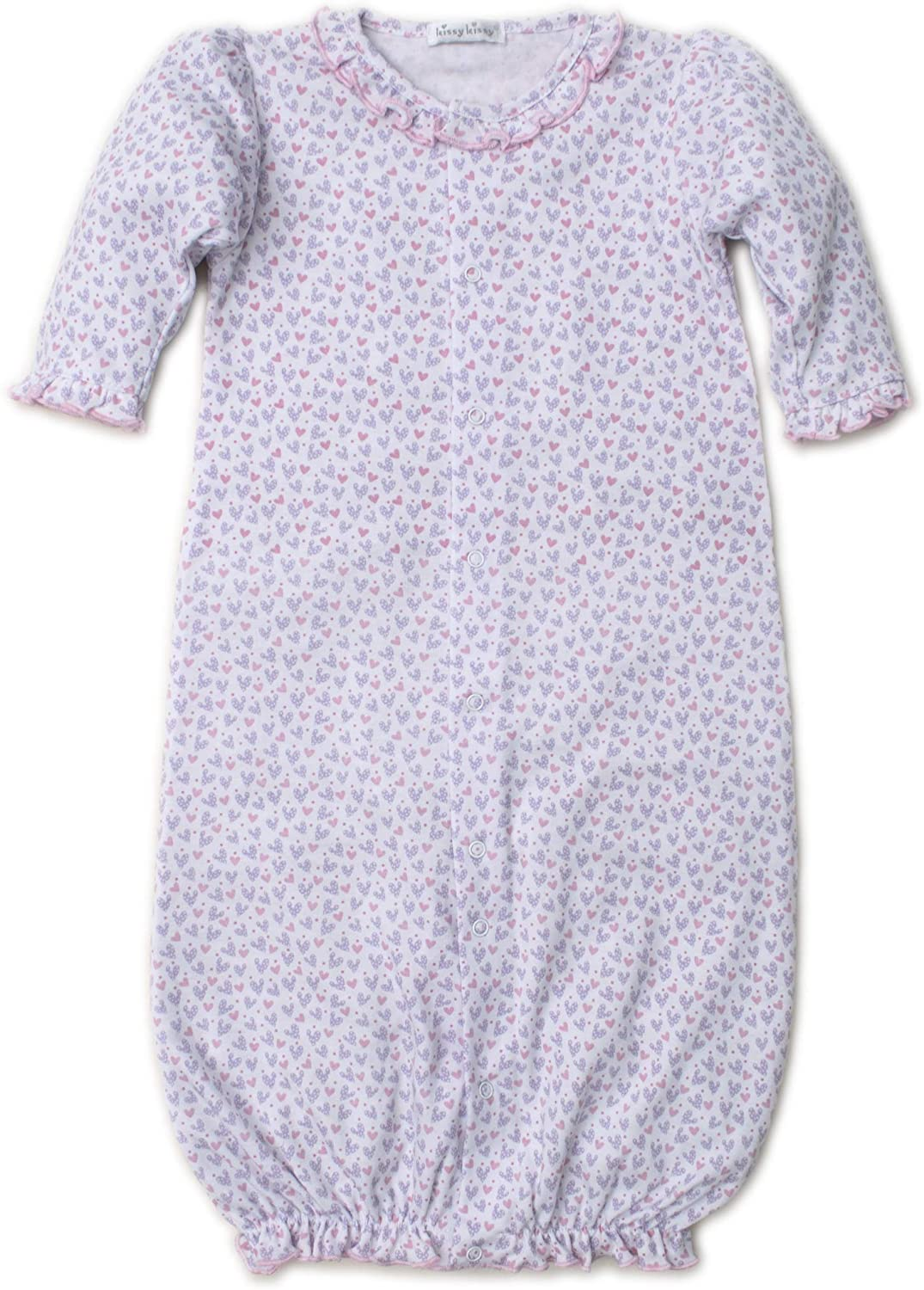 Kissy Kissy Baby-Girls Infant Oodles of Poodles Convertible Gown