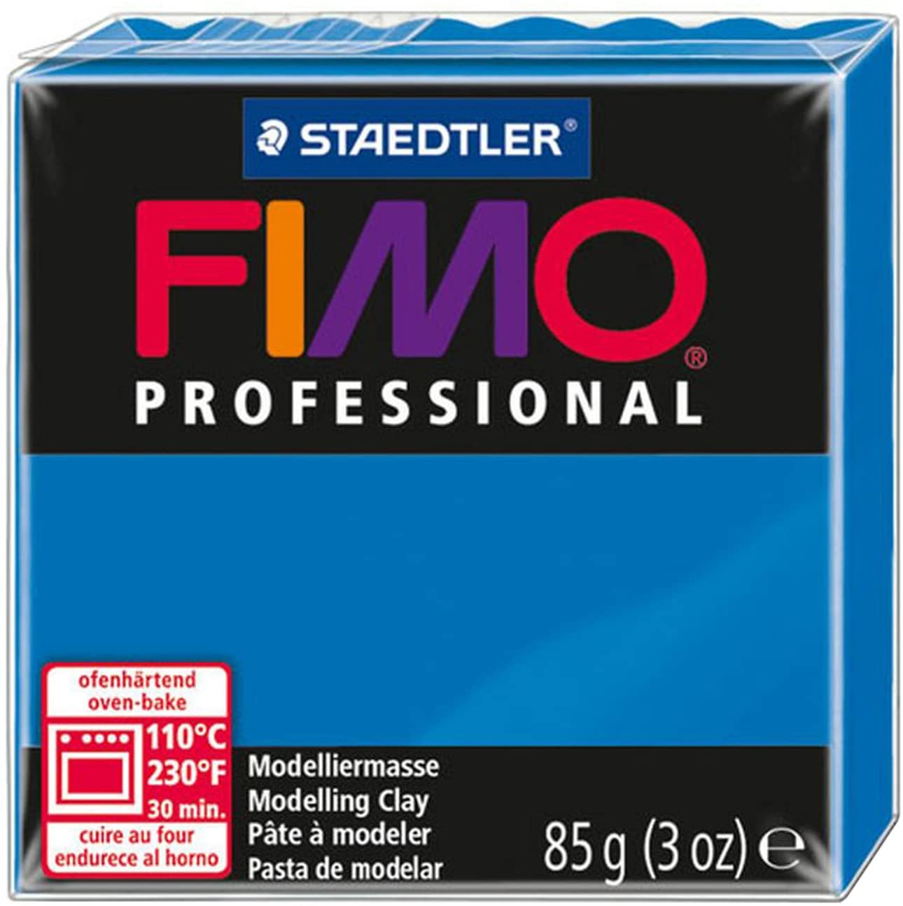 Staedtler Fimo Professional Soft Polymer Clay, 3-Ounce, True Blue