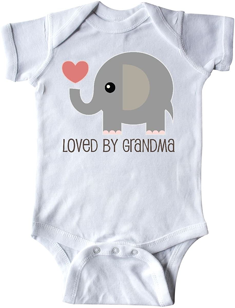 inktastic Loved by Grandma Cute Grandchild Infant Creeper