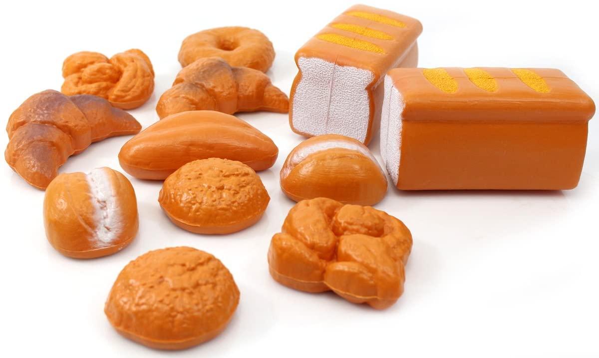 SHOP.R Toy Bread Playset 12 Pieces