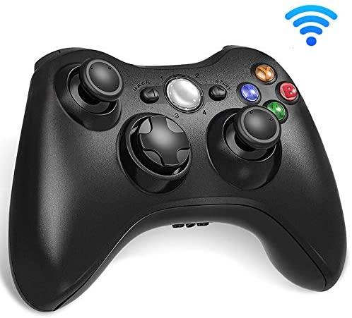 Cypin Xbox 360 Wireless Controller, 2.4GHz Xbox 360 Gamepad Joystick Wireless Controller for Xbox 360 Console and PC Windows 7/8/10