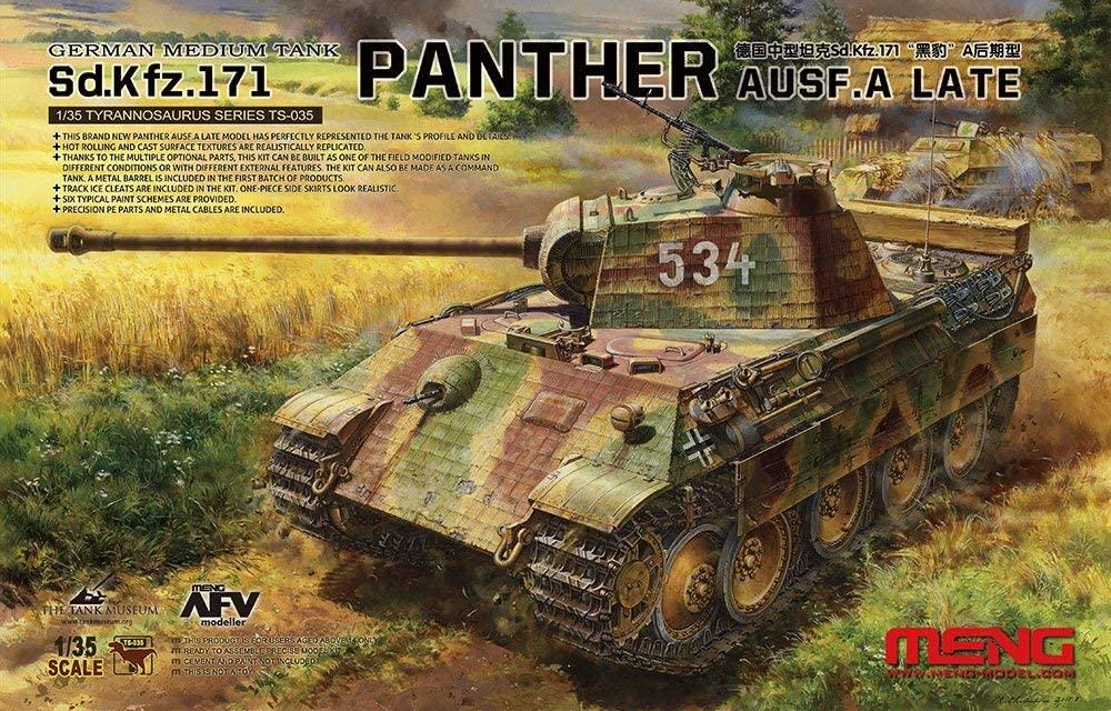 Meng Model 9116751/35Sd. Kfz 171Panther, Late Version, Model Kit
