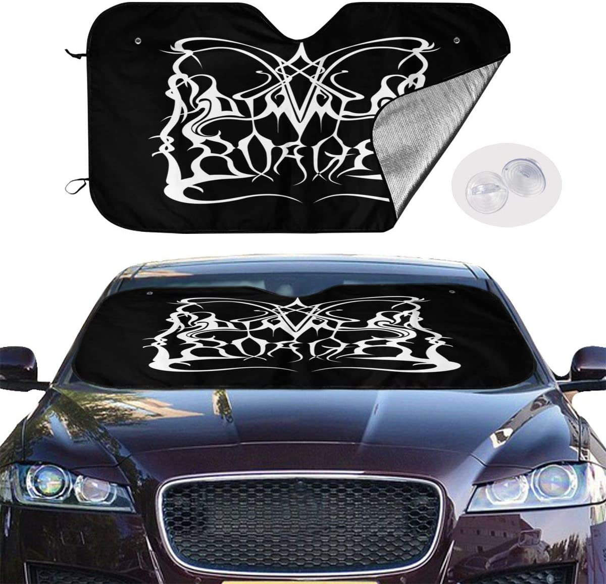 NOT Dimmu Borgir Universal and Stylish Car Windshield Visor