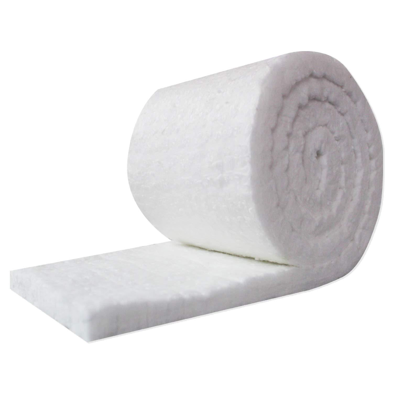 UniTherm Ceramic Fiber Insulation Blanket Roll, (6# Density, 2300°F)(1