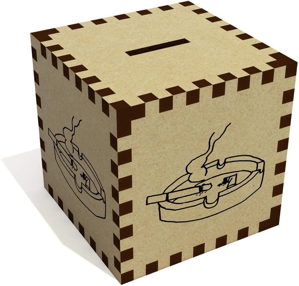 'Cigarette in Ashtray' Money Box / Piggy Bank (MB00065885)