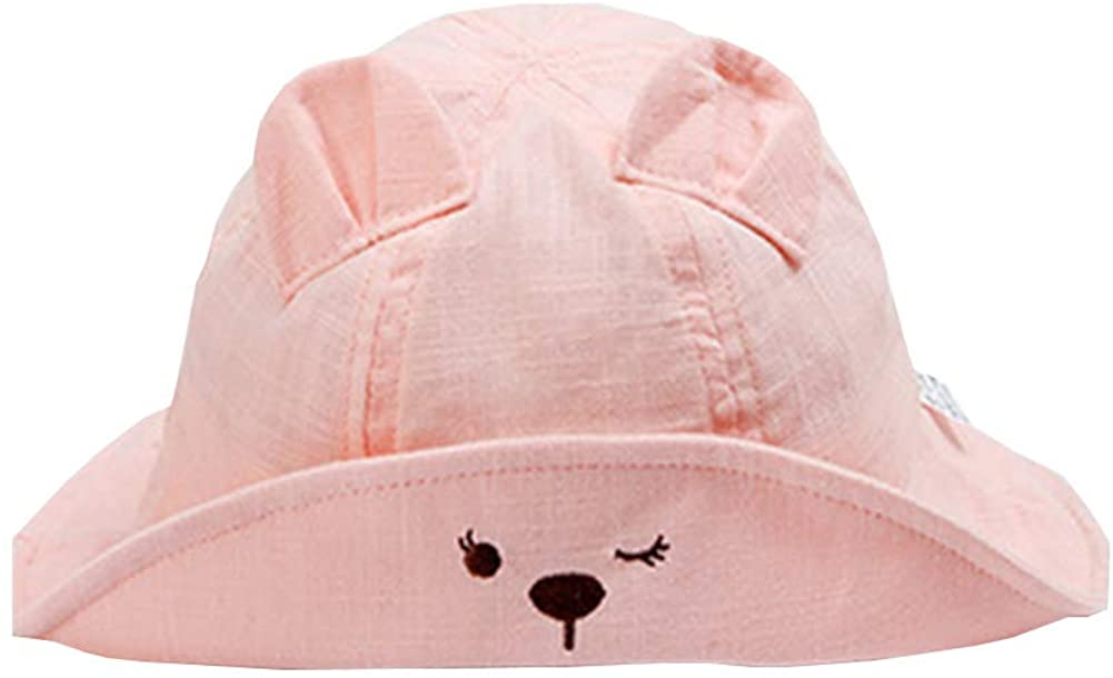 IMLECK Baby Unisex Toddler Summer Play Reversible Bucket Hat UPF 50+ Sun Hat with Chin Strap