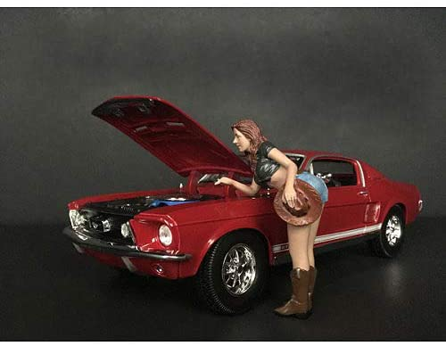 The Western Style Figurine V for 1/24 Scale Models by American Diorama 38305