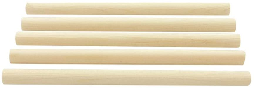 Vbest life Cello Sound Post, 5pcs Spruce Wood 18cm Sound Post for 3/4 4/4 Cello String Instruments Accessory