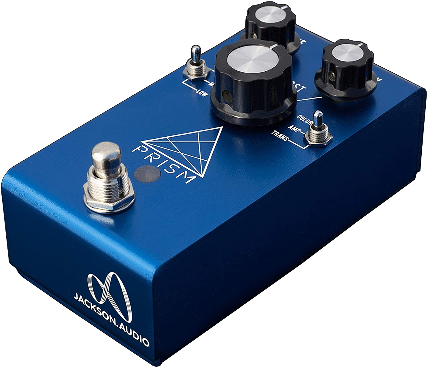 Jackson Audio Prism EQ and Boost Guitar Effects Pedal, Anodized Blue (PRISMBLU)