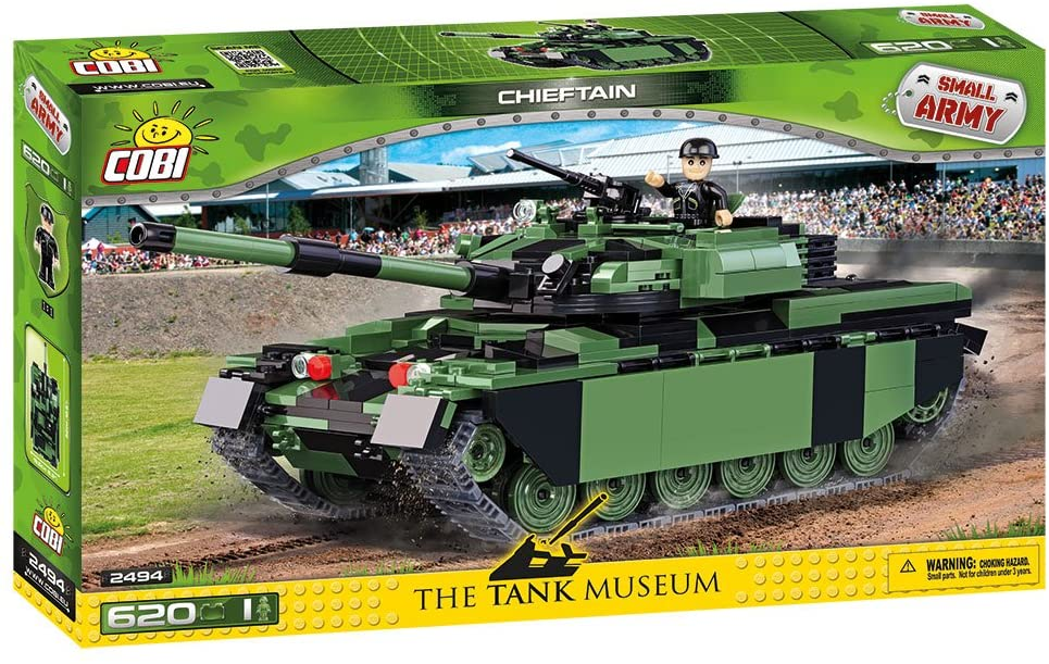 COBI Small Army Chieftain Battle Tank (2494)