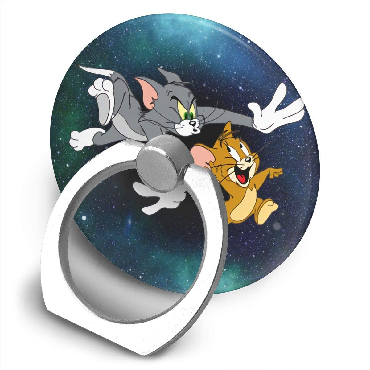 Tom & Jerry On The Run Finger Stand Phone Grip Holder Grip Mounts Cellphone