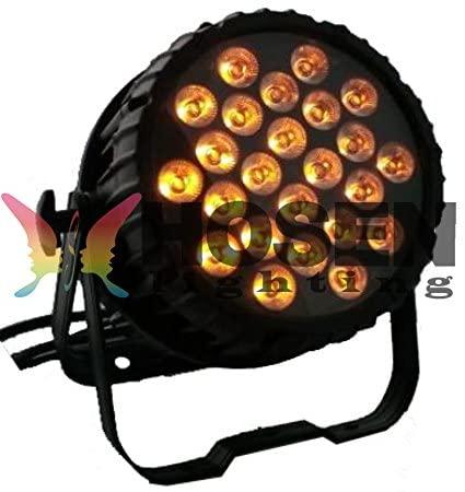 Hosenlighting Waterproof 2418W 6IN1 RGBWA+UV LED PAR Light