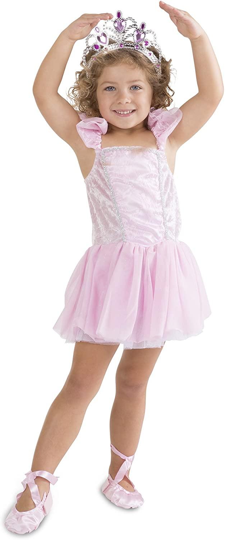 Melissa & Doug Ballerina Role Play Costume Set