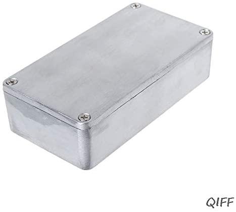 Davitu Electrical Equipments Supplies - Effect Aluminum Box Metal Electrical Case Guitar Instrument Enclosure DIY Mar28