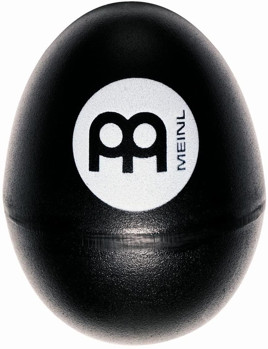 Meinl Percussion ES-BK Plastic Egg Shaker, Black