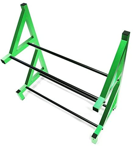 Integy RC Model Hop-ups C26750GREEN Wheel & Tire Storage Rack 19x8x17.5 Inch for 1/8 & 1/5 Scale