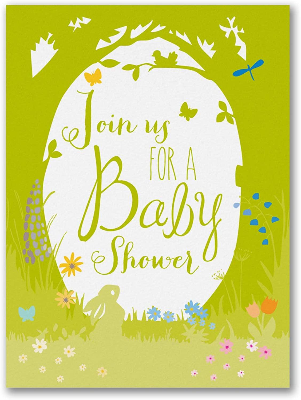 875pk Nature Child - Baby Shower Invitation-Baby Shower Invitations