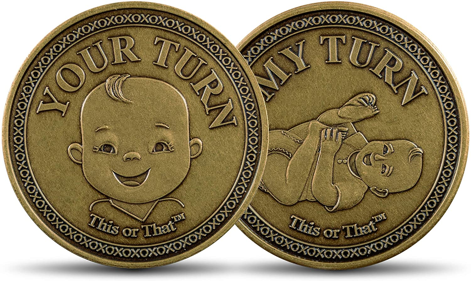 This or That Original Diaper Changing Coin   Flip Coin to See Who Changes Diaper