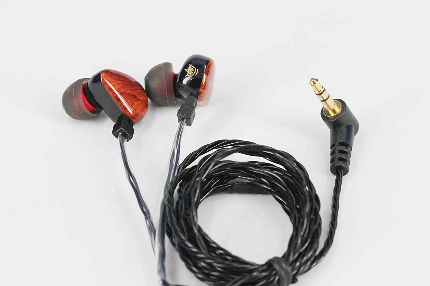 HEIR AUDIO Tzar 350 a Hand Crafted in Ear Monitor Earphone (Detachable Cable)