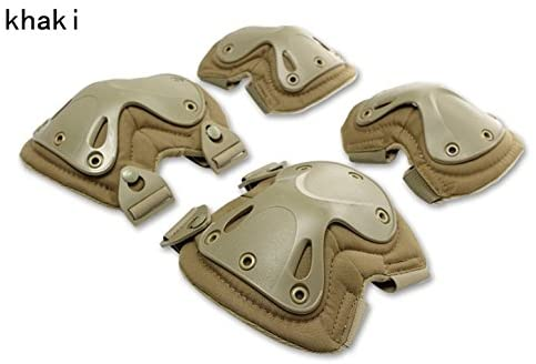 HWZ SWAT Knee & Elbow Pads CS Military Equipment Tactical Fighter Protective Gear