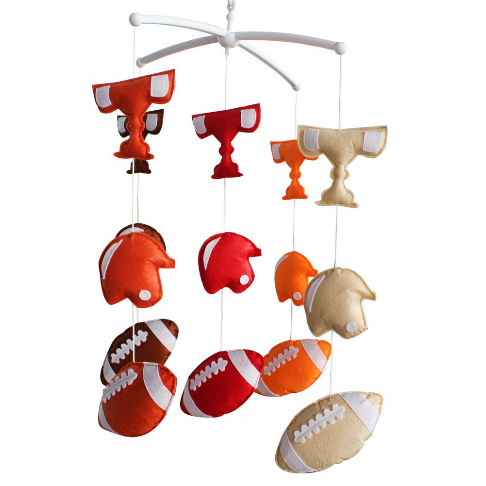 Handmade Baby Crib Mobile Toy Gift Nursery Decoration for 0-2 Years, MQ18