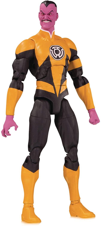 DC Collectibles Essentials: Sinestro Action Figure, Multicolor