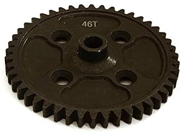 Integy RC Model Hop-ups C28619 Billet Machined Steel 46T Spur Gear for Redcat TR-MT10E 1/10 Brushless Truck