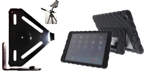 SlipGrip Tripod Mount for Apple iPad Air Tablet Using Gumdrop Drop Tech Hideaway Case