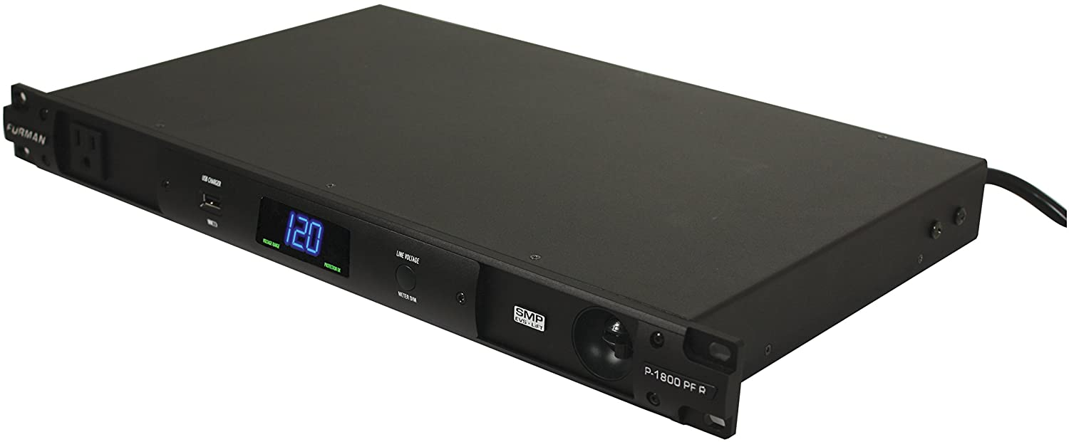 Furman P-1800 PF R Advanced Level Power Conditioner with Power Factor Technology Rackmountable, Use for Instrument Amps