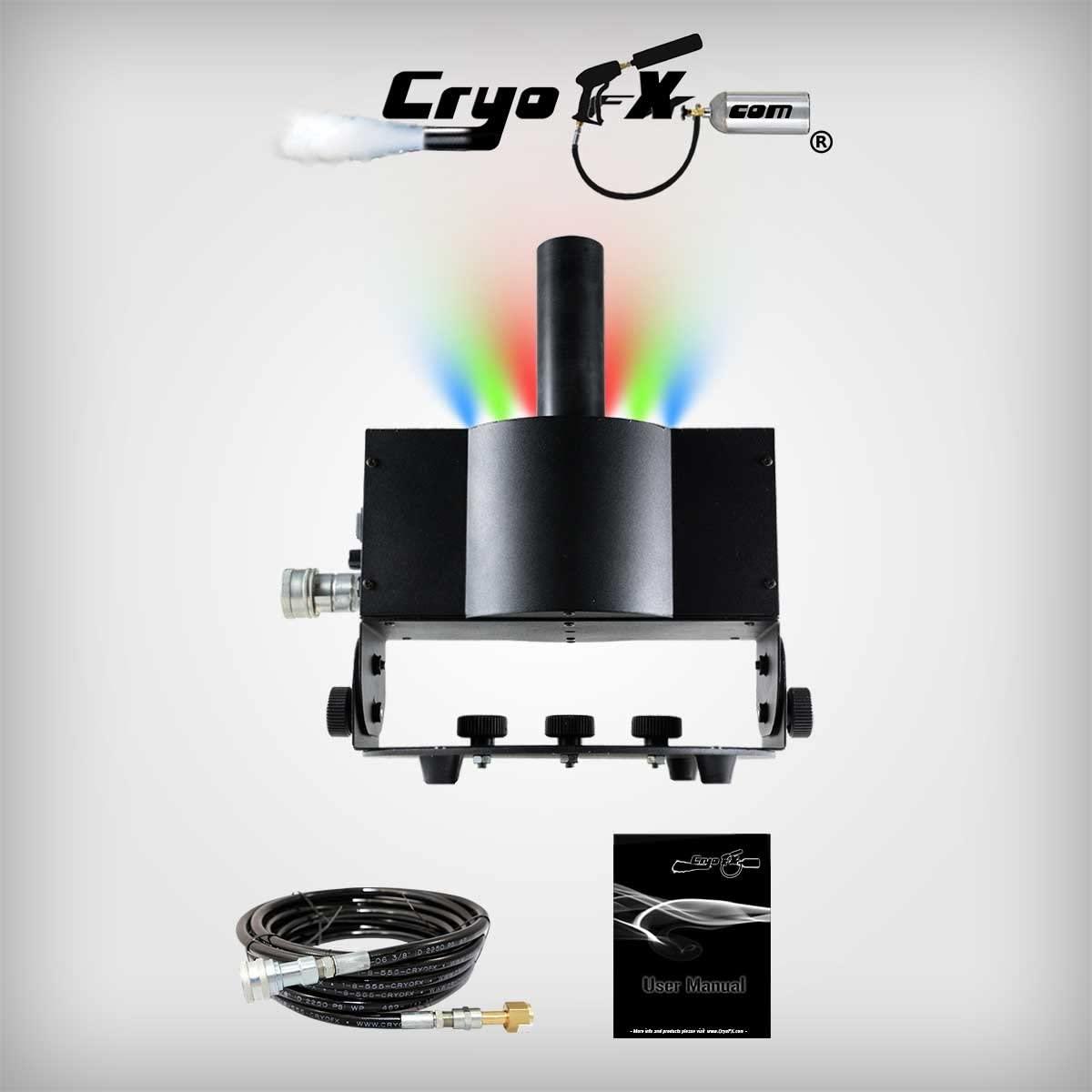 CryoFX CO2 LED Jet - CO2 Jet L.E.D., CO2 Blaster, CO2 Cannon, Cryo LED Jet