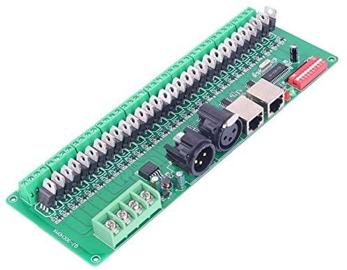 Clips 30 Channel 30CH DMX LED Controller DMX Decoder Drive RGB LED Controller DC9V-24V