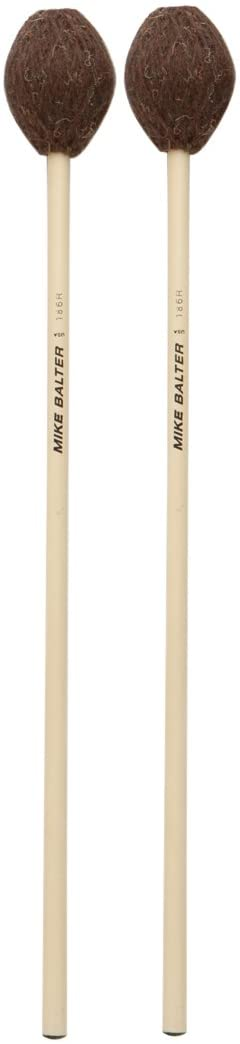 Mike Balter 186R Yarn Marimba Mallets Extra Soft - Brown