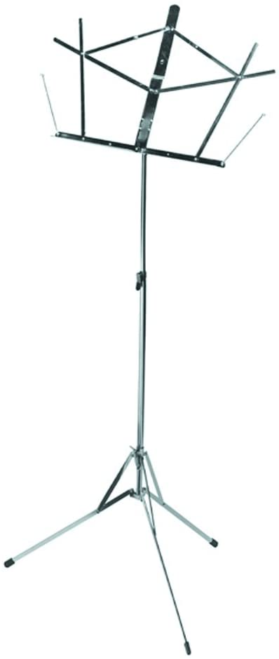 On Stage Folding Music Stand, Chrome