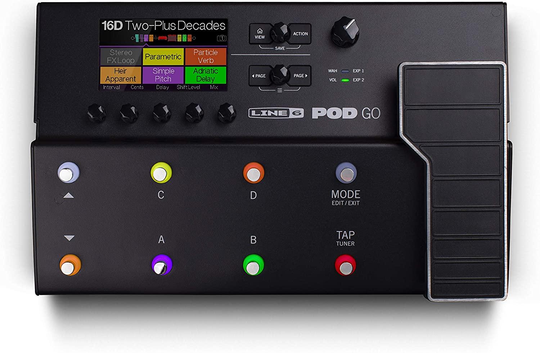Line 6 POD Go Guitar Multi-Effects Pedal