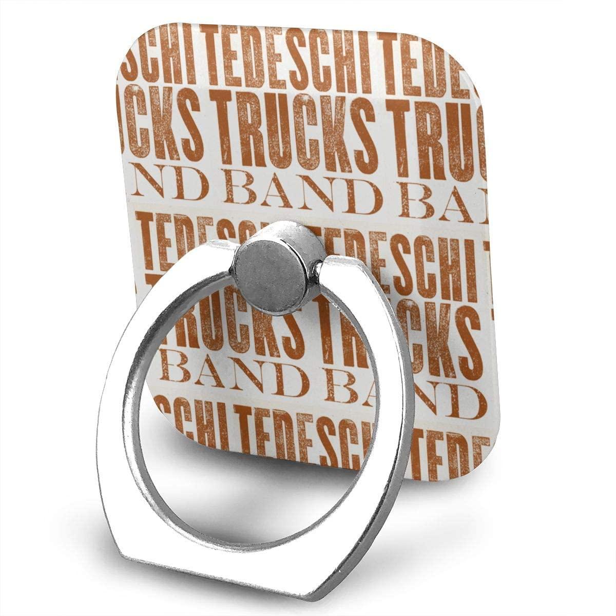 Tedeschi Trucks Band Phone Finger Ring Stand Bracket Holder Smartphone Grip Stand Holder 360 Degree Rotating Sticky Cute