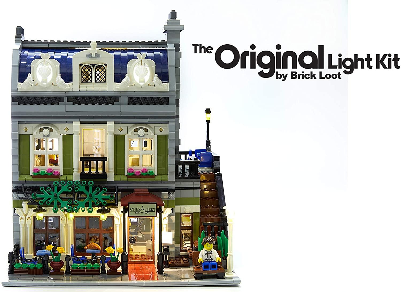 LED Lighting Kit For LEGO Parisian Restaurant - 10243 - Custom Designed - Handmade - Durability Tested