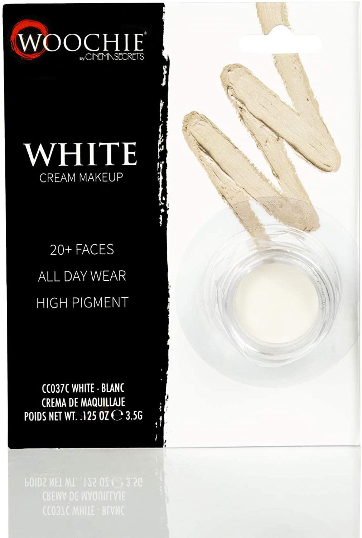 Woochie by Cinema Secrets White Cream Make Up